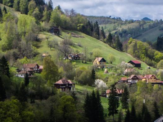 paysage roumain
